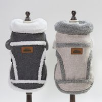 manteau de chien hiver achat en gros de-2019 vêtements pour chiens veste nordique pour animaux de compagnie de vêtements pour animaux d'automne et d'hiver manteau Teddy que Xiong Bomei chiot caillot