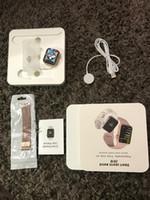 iwatch montre intelligente achat en gros de-Pour iphone iwatch IWO 9 Montre intelligente 44mm Série 4 1to1 Bluetooth Smartwatch Moniteur de fréquence cardiaque Montre de sport pour iPhone Samsung