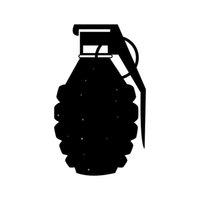 accesorios de camiones al por mayor-Etiqueta engomada del vinilo de la granada para el empaquetado accesorio de la personalidad de la motocicleta del ordenador del coche o del camión