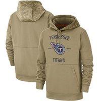 titan sweatshirt toptan satış-Yeni Tennessee Kazak Tans Titan Kapüşonlular 2020 Erkekler Kadınlar Gençlik Salute Hizmetleri Sideline Therma Performans Kazak Hoodies02