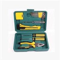 Wholesale car tools repair kit resale online - 11in1 Multifunction Car Emergency Repair Kit Box Screwdriver Wrench Plier Utility Knife Tape Measure Repairing Tool Car Accessory DBC VT0489