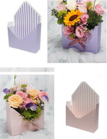 Wholesale printing chemicals for sale - New Festive Creative Envelope Fold Flower Box Envelope Fold Flower Box Wedding Engagement Supplies Party Decor