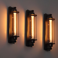 lampe à lanterne murale achat en gros de-Loft Vintage Appliques Américain Industriel Applique Moderne Edison E27 Éclairage De Lit Eye-lantern Applique Murale Éclairage Décoration De La Maison Éclairage