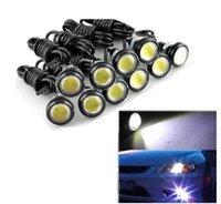 18mm drl geführt großhandel-High Brightness Eagle Eye Lampe Universal Car DRL 18MM LED Tagfahrlicht IP68 Wasserdichtes Tagfahrlicht