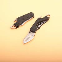 ingrosso imballaggio apribottiglie-Offerta speciale Kershaw 1025X Cinder Plain Keychain Folding Knife Pocket Folder + Apribottiglie Con pacchetto sacchetto di vendita al dettaglio