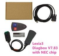 lexia3 citroen peugeot diagnostic tool großhandel-Lite-Version Lexia3 PP2000 mit Diagbox V7.83 mit NEC-Chip Citroen für Peugeot-Diagnosewerkzeug