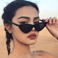 Wholesale small size sunglasses for sale - Group buy Cat Eye Sunglasses Women New Fashion Small Size Frame Eyewear Reb Blue Green Lens Sun Glasses Party Mask For Dropshipping