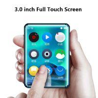 rádio x6 venda por atacado-X6 Full Touch Screen MP3 Player 8 GB 40 GB Leitor de Música com Rádio FM Vídeo Embutido Speaker PK benjie x6 x5 RUIZU