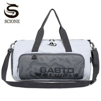 Waterproof Nylon Travel Handbag Dry and wet Separation Men Women Luggage Duffle  Bags Shoulder Overnight Bag With Shoes Pocket 48dc266666