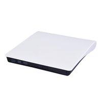 dizüstü bilgisayar için araba kullan toptan satış-Optik DVD Sürücü Harici Kaydedici Okuyucu Taşınabilir CD-RW ROM Çalar USB 3.0 Laptop PC MAC Için Burner Çıkar