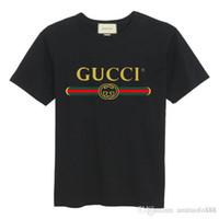 europäische männer t-shirt größen großhandel-Herren Sommer Original mit Logo und hochwertigen Kurzarm europäischen und amerikanischen Big Size Fashion Herren T-Shirt T-Shirt