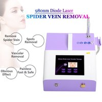 Clinic Use Vascular Laser Vein Removal Spider Veins Machine Capillaries Couperose On Face Body Legs Treatment