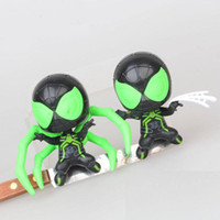Wholesale cartoon style action figures for sale - Group buy 2 Styles Super Hero Spider With magnetic toys New Cartoon Avengers Action Figures cm inches Gift For Kids C6303