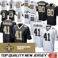 New Orleans 41 Alvin Kamara Saints Jersey 9 Drew Brees 13 Michael Thomas 23  Marshon Lattimore 28 Adrian Peterson 88 Dez Bryant ffec3e1ae
