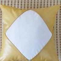 cas de gland achat en gros de-40 * 40 cm DIY Sublimation taie d'oreiller couverture avec Tassel Blank Taie d'oreiller Mode pour Heat Press Imprimer Coussin Cover LJJK1749