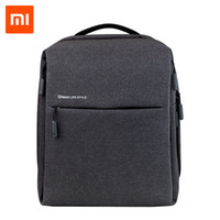 Wholesale life backpacks resale online - Original Xiaomi Mi Backpack Urban Life Style Shoulders Bag Rucksack Daypack School Bag Duffel Bag Fits Inch Laptop Portable Y19061204