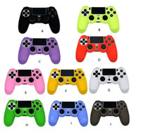 Wholesale video game covers for sale - Group buy For PS4 Sony Playstation Slim Controller Case Silicone Soft Flexible Gel Rubber Shell Cover Video Game Controller Accessory