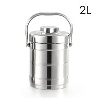 1.6 2.0L Vacuum Insulated Lunch Box Stainless Steel Thermal Jar Food Container C18112301