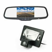 mazda rückfahrkamera großhandel-Rückansicht Reverse Parking Backup Auto Kamera Spiegel Monitor Kit für Mazda 5 / Mazda Premacy