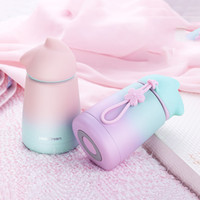 300ml Rabbit Thermo Cup Stainless Steel kid Thermos bottle For water Thermo Mug Cute Thermal vacuum flask child Tumbler Y200106