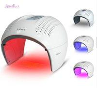 venta de máquinas para el cuidado de la piel al por mayor-Máquina de terapia de luz LED PDT de venta caliente libre de impuestos de la UE Rojo Azul BIO Dispositivo de belleza de terapia de luz para máquina de cuidado de la piel