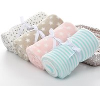 Wholesale rolling carpet for sale - Group buy Kindergarten Student Siesta Carpet Children Siesta Blankets Newborn Baby Blanket Infant Cartoon Flannel Coral Roll Blanket
