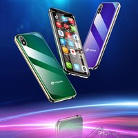 Wholesale phones dual sim luxury for sale - Group buy Super Mini Mobile phone K TOUCH I9 Android GB GB Luxury Metal Frame Telefone Face ID WiFi Moviles Smart phone Student G Smartphone