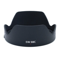 Wholesale eos camera lenses resale online - EW C EW88C Lens Hood Protector Petal Bayonet Mount For Canon Eos EF F L II USM Camera Lens Hood mm Ew c