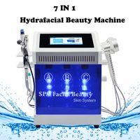 Wholesale bio photon beauty for sale - Group buy hydrafacial bipolar rf beauty equipment hydro peel dermabrasion Bio Spary gun Photon lights for salon use