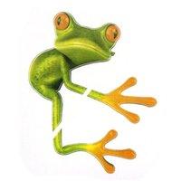 kurbağa araba çıkartmaları toptan satış-2019 Yeni Yüksek Kalite 3D Hug Kurbağalar Komik Araba Etiketler Kamyon Pencere Decal Grafik Sticker Yüksek sıcaklık su Geçirmez # P5