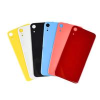 iphone oem zurück großhandel-OEM Back Glasabdeckung Für iPhone XR XS MAX 8 8 Plus Batterieabdeckung Gehäuse Mit Kleber Aufkleber Freies Epacket