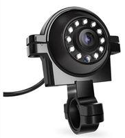 auto nachtsichtbilder großhandel-30 STÜCKE Neue Nachtsicht Photosensitive Bus Zukunftsweisende HD Kamera Lkw Blinder Fleck Rückansicht LED Auto Überwachung Umkehrbild