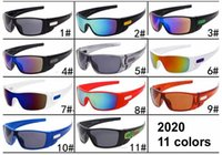 Wholesale sunglasses cycling hot for sale - Group buy Hot Sale Men Sports Sunglasses UV400 Cycling Goggle Unisex Designer Colors PC Full Frame Shield Eyeglasses