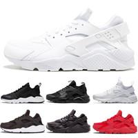 release date: 4e76f ddca7 Wholesale Designer White Dot ACE Huarache IV Running Shoes Classic Triple  Black red men women Brand