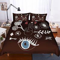 ingrosso comforter di lusso 3d-Piumino di design di Yi Chu Xin 3D Copripiumino e federa Set di biancheria da letto di lusso Set di biancheria da letto di dimensioni comode
