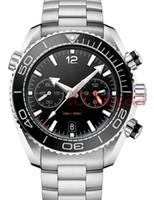 edelstahl uhrenarmband großhandel-A-2813 Armband Luxus mechanische Herren Edelstahl Automatikwerk Designer Uhr Herren Selbstaufzug Uhren 007 Skyfall Armbanduhren