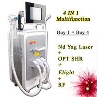 Wholesale rf lift machine resale online - ipl shr machine laser hair removal nd yag laser machine yag tattoo removal Ipl Rf Laser