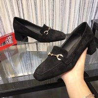 Wholesale new casual formal shoes resale online - duping520 New suede retro casual shoes Women Boot Riding Rain BOOTS BOOTIES SNEAKERS High heels Lolita PUMPS Dress Shoes
