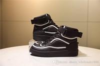 ingrosso stivali da donna in oro bianco-Nuovo prodotto Stivaletti sneaker uomo in pelle di vitello, oro bianco nero Runner Sneakers Womens Designer 19ss Boot con scatola Taglia 35-45