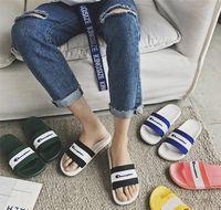 Wholesale flip flop slippers soles resale online - Champions Designer Slippers Mens Women Sandals Brand Soft Rubber Sole Sandal Luxury Flip Flops Summer Fashion Outdoor Beach Bath Shoes C7301