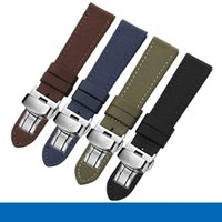 Wholesale magic straps resale online - Nylon watch band black brown blue army green strap fit Huawei GT PRO3 Honor Magic Dearm smart watch strap replacement Wristband