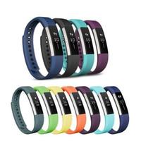 Wholesale waist bracelet for sale - Group buy Silicone Replacement Wristband Fitbit Alta Bracelet Smartband Fitness Colors Mix Sports Soft Abrasion Resistant qm F1