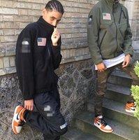 ingrosso colletto di cardigan-Vendita calda di marca N-F uomini outdoor sport caldo pile in pile collo a vento antivento giacca cardigan traspirante