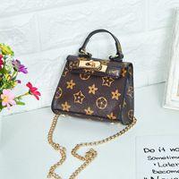 Wholesale cute style handbags resale online - Girls Designer Messenger Bag Luxury Pattern Handbag Fashion Printing Letter Bags for Party Outdoor Activities Babys Kids Cute Bag Styles