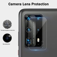 Wholesale mate camera for sale – best For Huawei P40 Lite P30 P20 Pro Mate Mate20 Lite Camera Lens Tempered Glass Clear Screen Protector Protective Film with retail