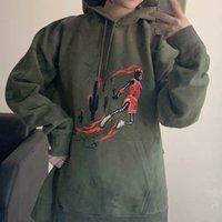 boya hoodie toptan satış-19FW Travis Scott X TS Askeri yeşil süet smaçlar koruyucu Hoodi Astroworld Hoodie Erkekler Kadınlar Moda Hip Hop Kadınlar ve Erkekler Sweatshirt boyalı