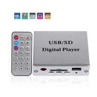 Wholesale dc mp3 player for sale - Group buy DC V Digital Auto Car Power MP3 Audio Player Reader Electronic Keypad Control Support USB SD Stereo