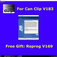 ingrosso può interferire con l'interfaccia diagnostica-Professional per clip a clip V183 + regalo Reprog V169 database elettronico del rivenditore per CAN CLIP interfaccia scanner diagnostico fino al 2018