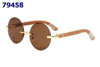 grandes monturas de gafas al por mayor-BIG 2019 Cabeza de leopardo Gafas ópticas redondas con marco Retro Metal Gafas redondas Marca 24 COLOR Gafas lisas con caja de gafas rojas