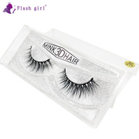 Wholesale natural looking eyelashes for sale - Group buy New Makeup Look Flash girl W series D W17 D Mink Eyelashes pair natural thick full strip eyelashes